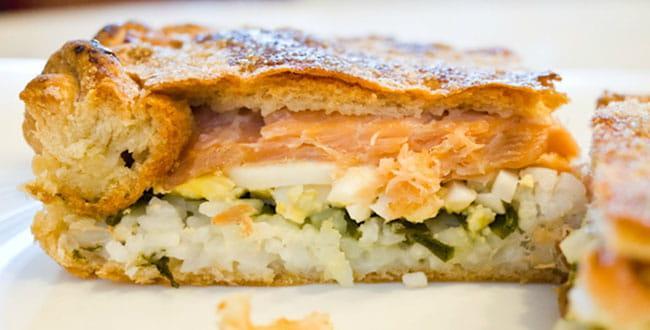 Пошаговый рецепт пирога из свежей рыбы