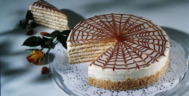 Торт Эстерхази рецепт 🥝 пошаговый, приготовить крем и украсить коржи