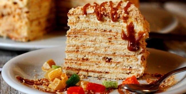 Пошаговый рецепт торта Минутка с фото