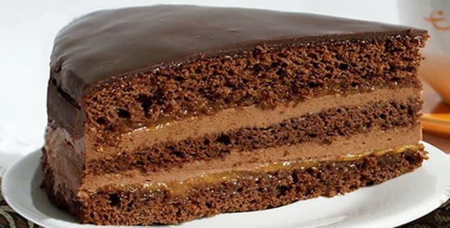 Классический пошаговый рецепт торта Прага с фото