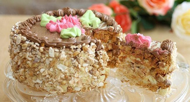 Киевский торт история создания