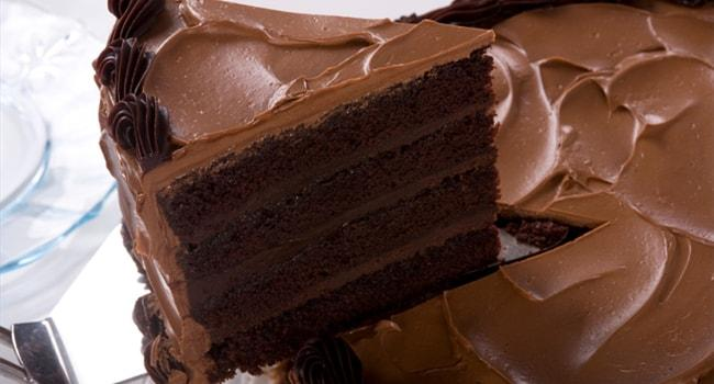 Шоколадный крем для украшения торта