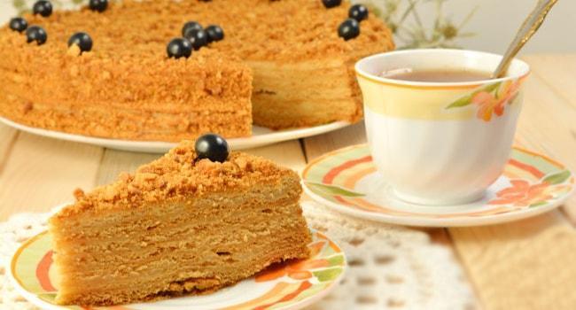Самый вкусный торт Рыжик рецепт