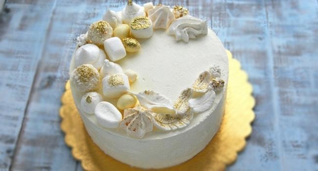 Торт Молочная девочка с пломбирным кремом пошаговый