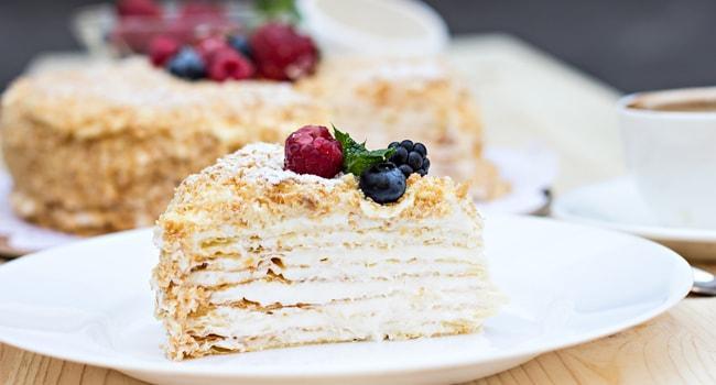 Заварной крем классический для торта рецепт