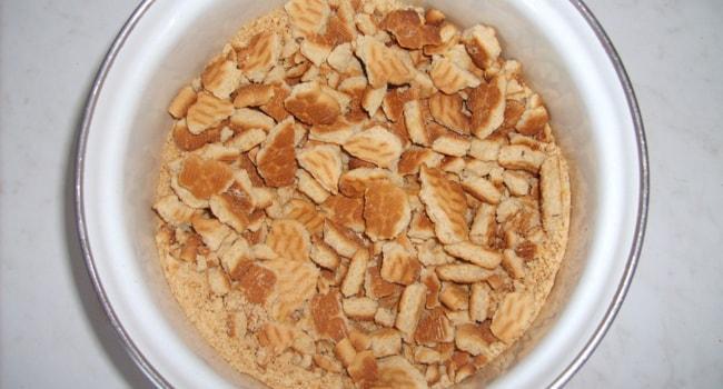 Измельчаем печенье для пирожных Минутка