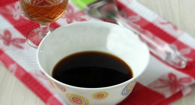 Кофейно-коньячная протитка для торта Мужской идеал