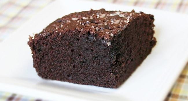 Так выглядит пирог Брауни шоколадный