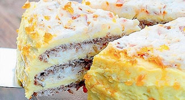 Так выглядит Египетский торт