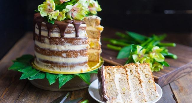 Так выглядит готовый торт Колибри