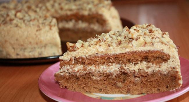 Так выглядит армянский торт Мужской идеал