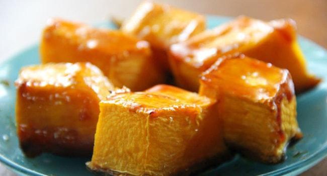 Рецепт тыквы запеченной в духовке с медом