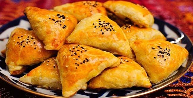 Пошаговый рецепт приготовления самсы с тыквой