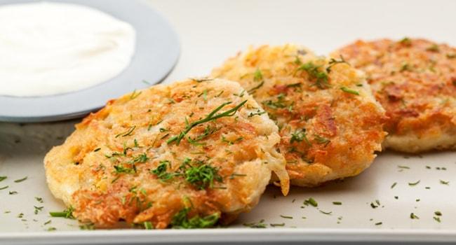 Замечательный рецепт картофельно-тыквенных драников в духовке