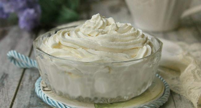 Крем сливочный пломбир для торта