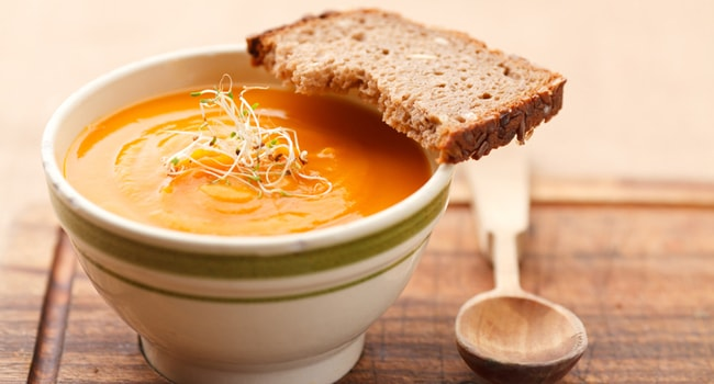 Как приготовить суп пюре из тыквы в мультиварке