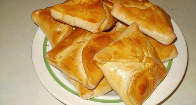 Тесто для плацинды с тыквой в духовке