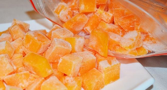 Как варить замороженную тыкву