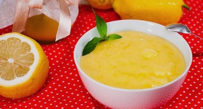Вкусный заварной сливочно-лимонный крем для торта