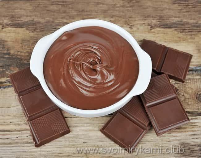 Приготовления шоколадного крема для бисквитного торта