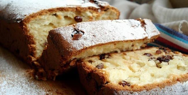 Пошаговый рецепт кекса Столичный с изюмом по ГОСТу
