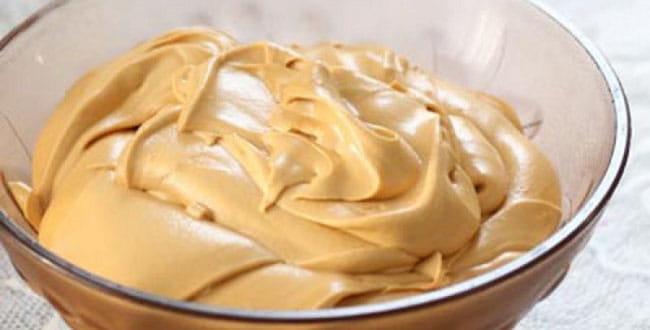 Крем со сгущенкой и маслом 🥝 рецепт масляного крема со сгущенным молоком