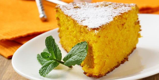 Пошаговый рецепт постного морковного пирога