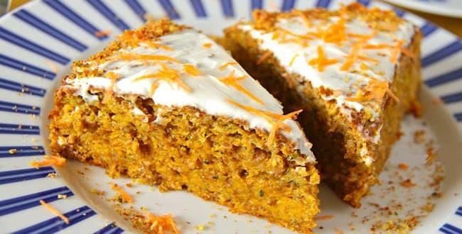 Пошаговый рецепт классического морковного пирога