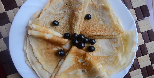 Пошаговый рецепт приготовления блинов на простокваше