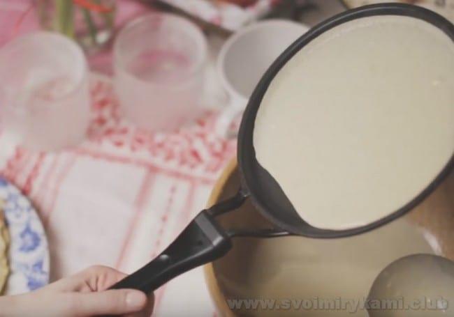 Это один самых простых рецептов ржаных блинов.