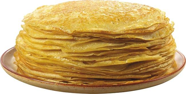 Пошаговый рецепт толстых и пышных блинов на кефире