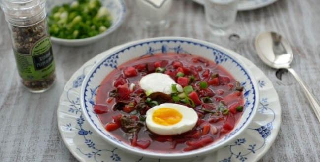 Ботвинник суп 🥝 из свекольной ботвы