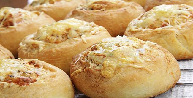 Пошаговый рецепт приготовления булочек с сыром
