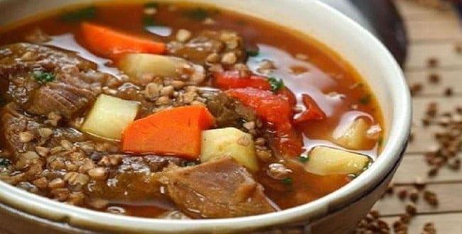 Пошаговый рецепт приготовления гречневого супа
