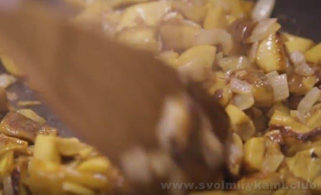 Приготовление грибного паштета требует минимум ингредиентов.