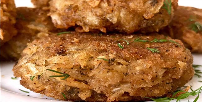 Пошаговый рецепт приготовления капустных котлет