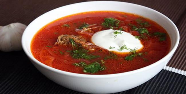 Пошаговый рецепт приготовления классического красного борща
