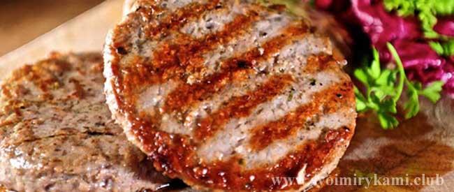 Вкусные котлеты для бургеров готовы