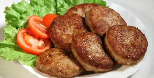 Пошаговый рецепт приготовления котлет из фарша говядины и свинины