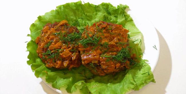 Пошаговый рецепт приготовления котлет из кабачков и фарша