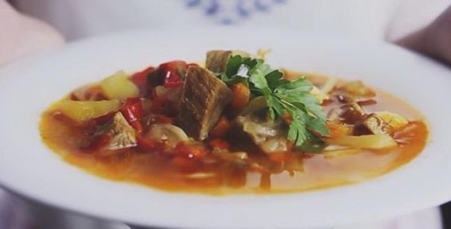 Пошаговый рецепт приготовления лагмана из говядины