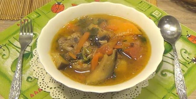 Пошаговый рецепт приготовления лагмана из курицы