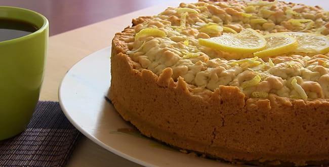 Пошаговый рецепт приготовления лимонного пирога