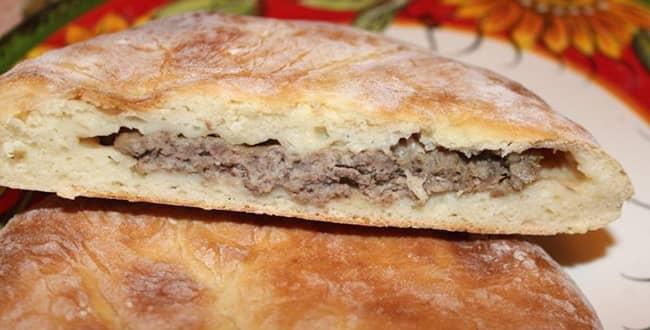 Пошаговый рецепт осетинского пирога фыдджын с мясом