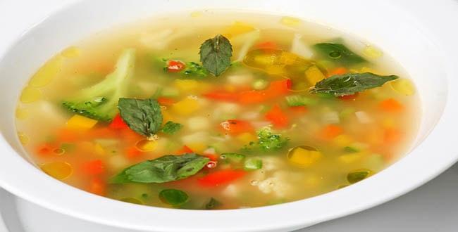 Овощной суп диетический 🥝 из овощей, как сварить простой супчик на воде, пп