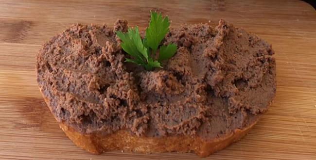 Пошаговый рецепт печеночного паштета из говяжьей печени
