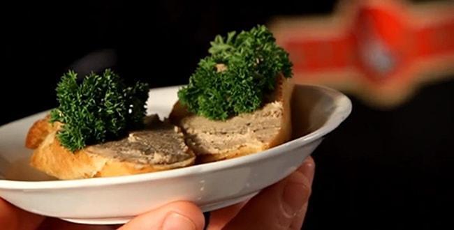 Пошаговый рецепт печеночного паштета из гусиной печени
