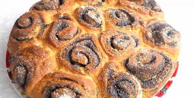 Пошаговый рецепт приготовления пирога с маком