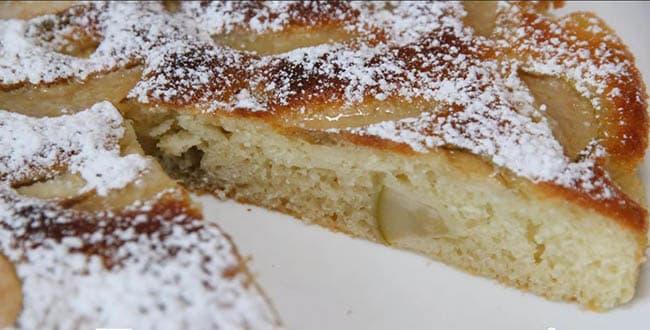 Пошаговый рецепт приготовления пирога с грушей