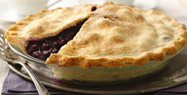 Пирог с творогом и ягодами 🥝 черничный, ягодный, из песочного теста, фото